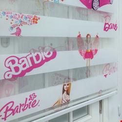 Barbie & Prenses Zebra Perde