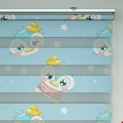 Bebek odası Zebra Perde 2021