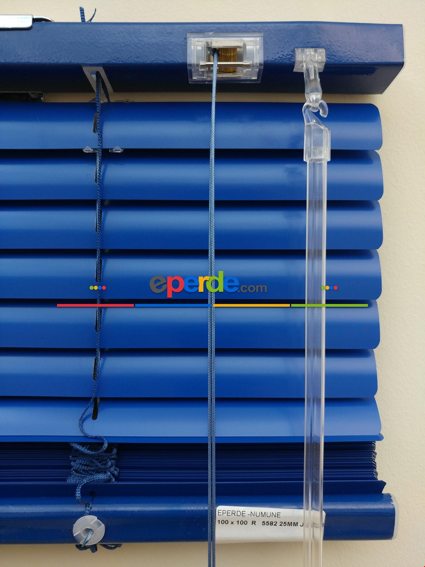 Saks Mavi - Alüminyum Jaluzi Perde - 25mm Kalınlığında