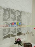 Kampanyalı Fiyat Çiftli Sistem Tül Ve Stor Perde - Büyük Damask- Krem Açık-ekru Krem - Ekru