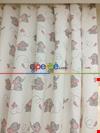 Kız & Erkek Bebek & Çocuk Odası Minik Fil Fon Perde Modelleri