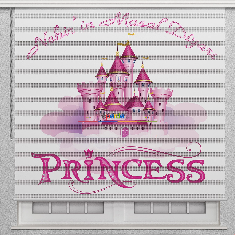 Kız Çocuk Odası Perdesi, Prenses Zebra Perde