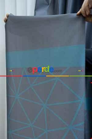 Lens Akıllı Dikey Tül Perde Koza-35- Çok Renkli 2