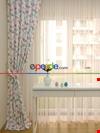 Kız Bebek & Çocuk Odası Kelebek Fon Perde Modelleri