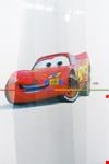 Taç Mc Queen Arabalar Baskılı Tül Perde