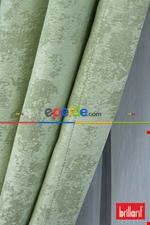 Brillant Mat Jakar Desen Fon Perde ( 180cm Dökümlü Fon )- Yeşil Yeşil