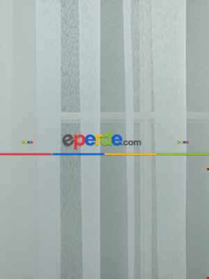 Perdeks Home Tül Perde 10 Lux Series- Ekru