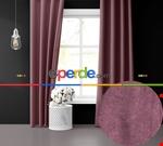 Sis Mavisi Ada Fon Perde 51 Renk Seçeneği Perle Home Daily Series Mor