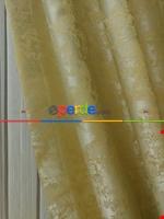 Açık Mavi Renk Jakar Desenli Fon Perde- Mavi Açık-mavi Grimsi Krem