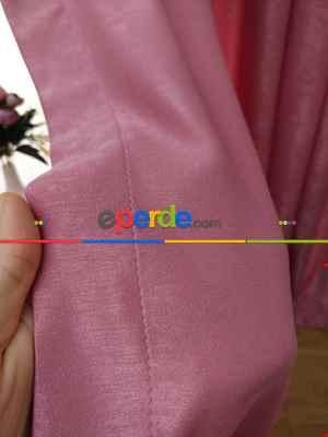 Soft Pembe Koyu Fon Perde (150)- Pembe Koyu