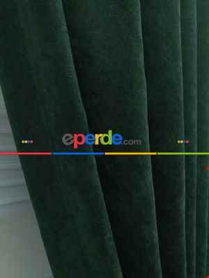 Yeşil - Düz Fon Perde- Yeşil