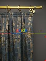 Modern Desenli Jakarlı Fon Perde Yeni Seri 101- Bej-füme-kahve Koyu-mavi Doymamış Mavi - Gri Füme Antrasit - Kahverengi - Krem