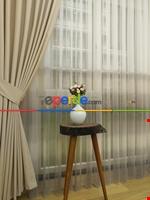 1.kalite Degrade Renk Geçişli Şantuk Keten Tül Perde Salon Perdesi 2021- Kahve Açık-gri Açık Gri Füme Antrasit - Kahverengi