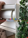 Yüksek Kalite Düz Zebra Perde - Ekru Renk
