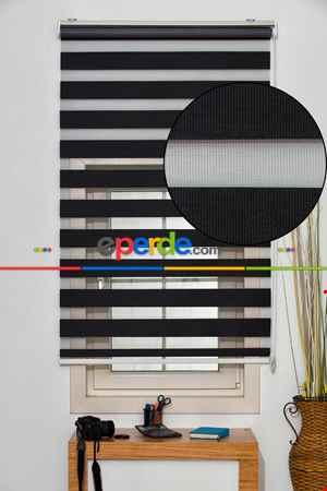 Salon Zebra - Rakipsiz Fiyat Son İndirim!!!Indirimli !!! Siyah Bambu Zebra Perde Ozel Fiyat- Siyah