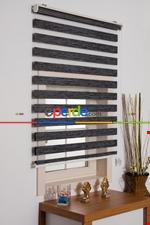 Rakipsiz Fiyat Son İndirim!!! %40 İndirimli!!! Zebra Perde Ekru Bambu Ozel Fiyat- Krem Açık Gri Füme Antrasit