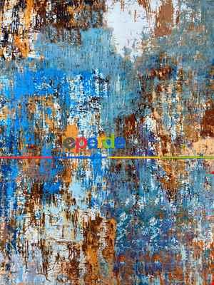 Modern Desenli Fon Perde 7 - ( Kalın Pamuklu Kumaş)- Kahve Venge-mavi Açık-mavi Koyu-ekru-hardal Sarısı