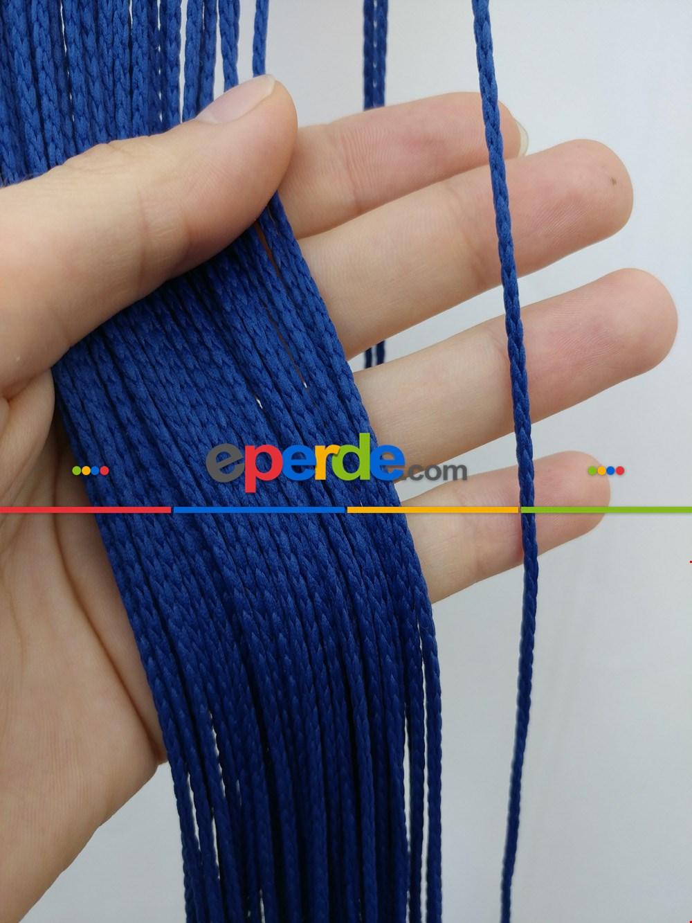 Mavi İp Perde