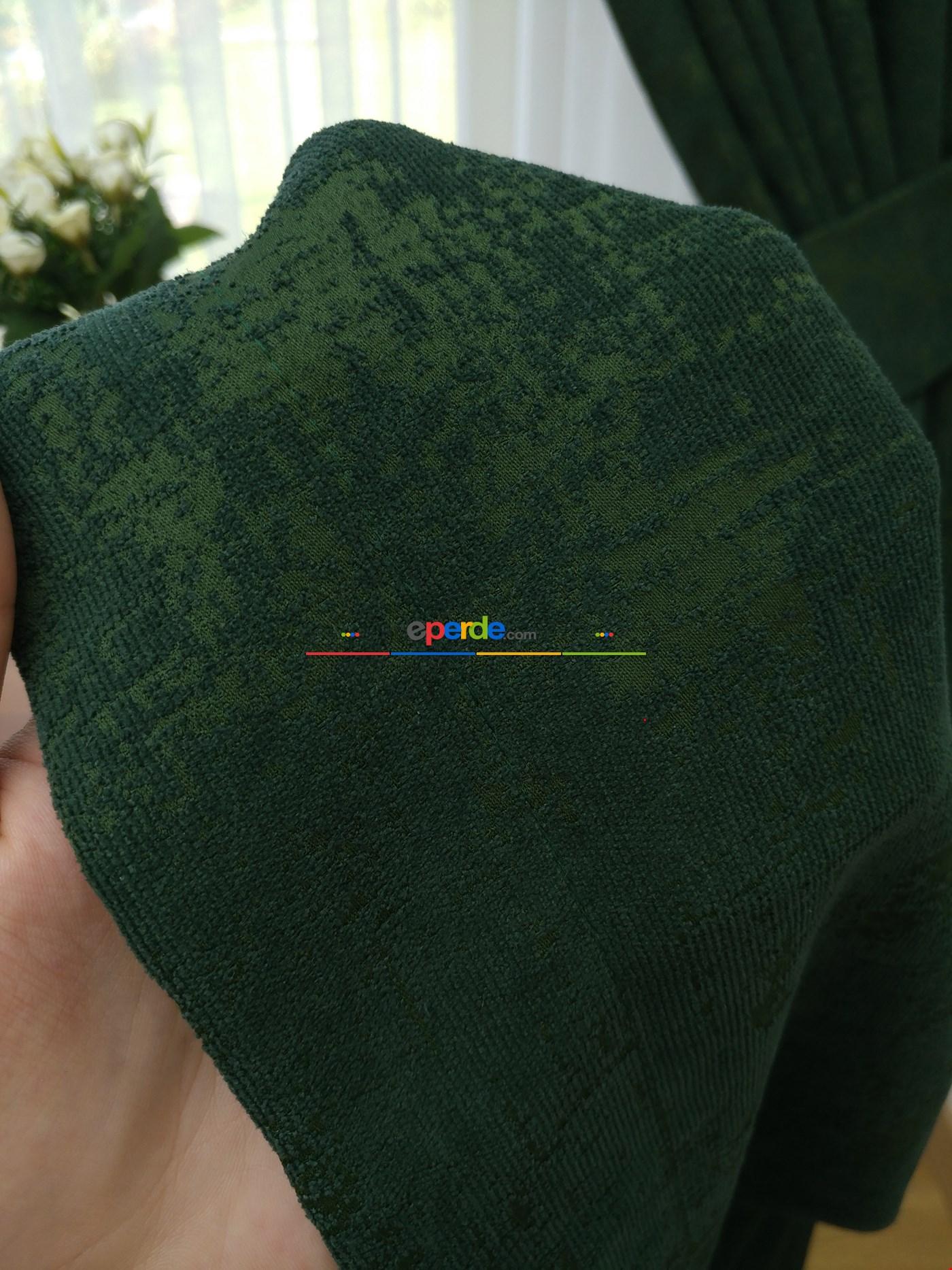 Şönil-yeşil Fon Perde (180)