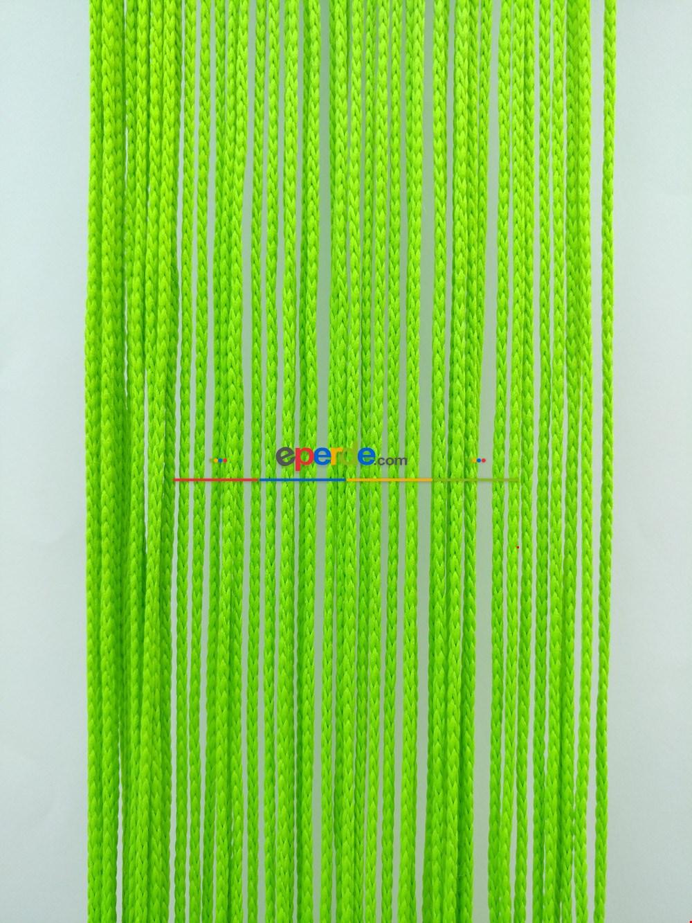 Fıstık Yeşili İp Perde