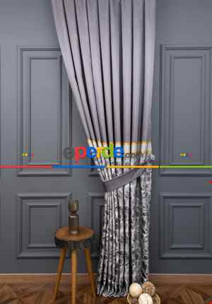Pano Fon Beylerbeyi Füme Renk 90cm X 280cm