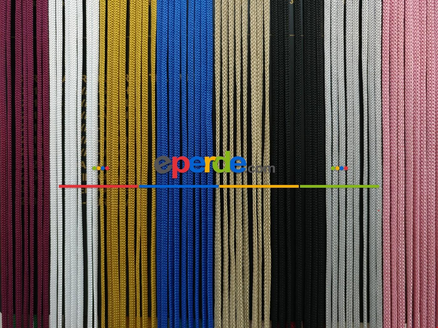 Gri Rengi İp Perde Jumbo Zincir Serisi
