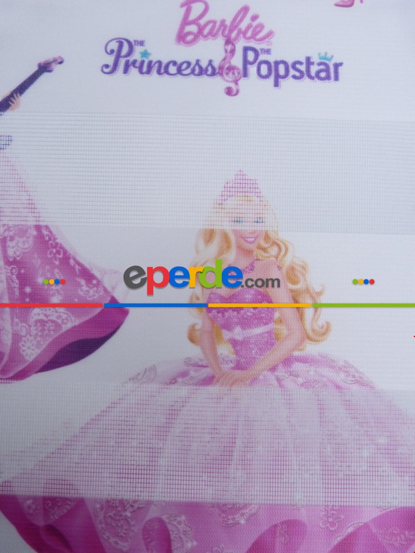 Barbie Desen Zebra Perde Sd16