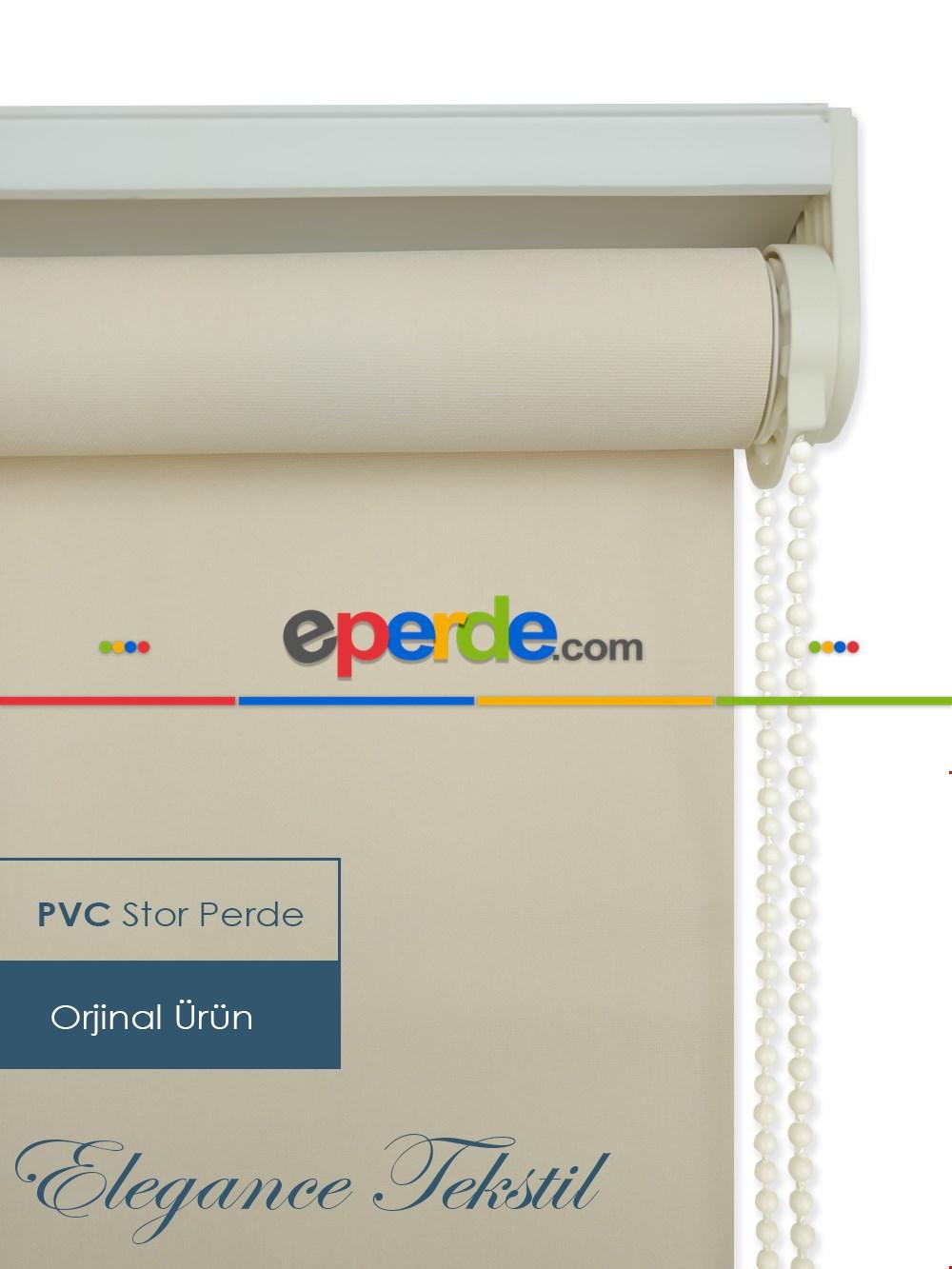 Düz Stor Perde Pvc Pastel Serisi - Yıkanabilir Stor