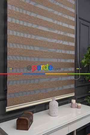Salon - Zebra Perde -new Bambu Düz Zebra Perde