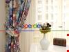Modern Desenli Genç Odası Fon Perde Modelleri