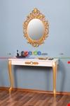 Aynalı Dresuar Gold 100cm X 75cm