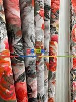 Modern Desenli Fon Perde 3 - ( Kalın Pamuklu Kumaş)- Siyah-mavi-füme-ekru-hardal Sarısı-turkuaz Yeşili Ara Renk Siyah - Gri Füme Antrasit - Kırmızı - Pembe - Ekru