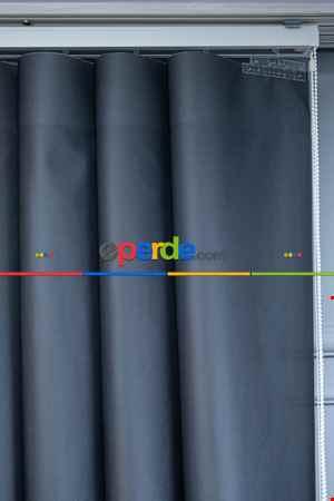 Lens Akıllı Dikey Tül Perde Koza-32- Çok Renkli 2