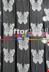 İp Perde Kelebek 3mt'lik Kupon Beyaz