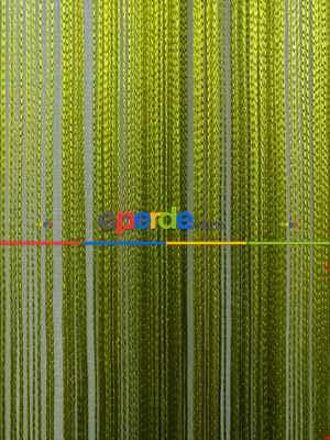 Yeşil İp Perde - Fıstık Yeşili- Yeşil
