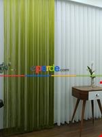 Yeşil İp Perde - Fıstık Yeşili- Yeşil Yeşil