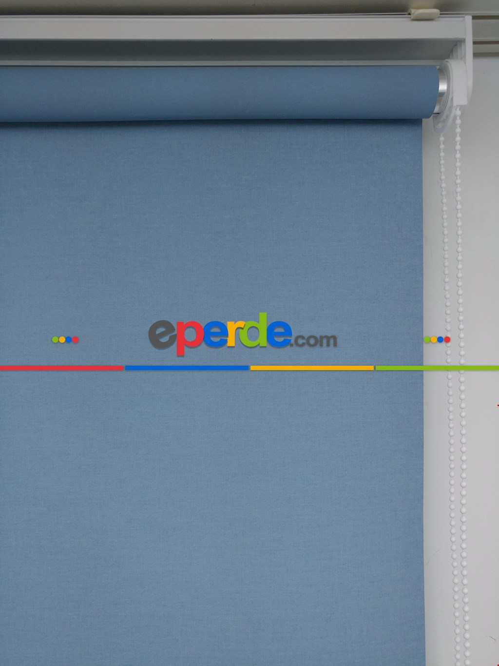Yıkanabilir Pvc Mat Stor Perde - Açık Mavi 1. Kalite- Mavi Açık