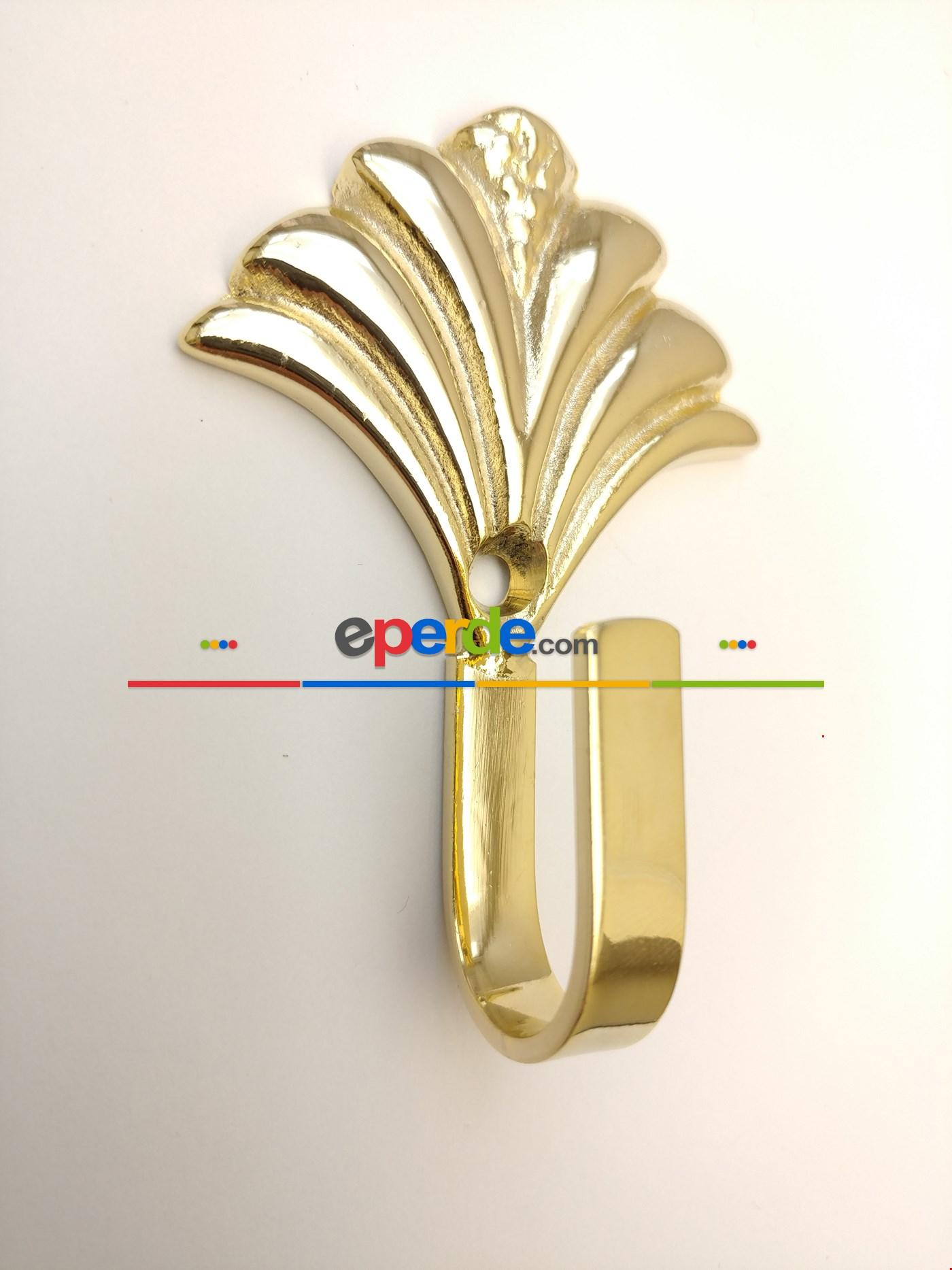 Perde Fon Demiri Prinç Paslanmaz Sarı Malzeme Altın