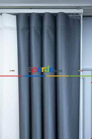 Lens Akıllı Dikey Tül Perde Bulut-14- Çok Renkli 2
