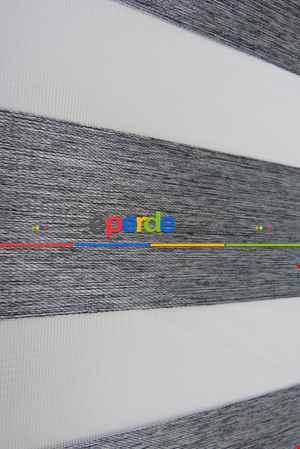 Karartma Zebra Perde Blackout) Işık Geçirmez- Füme
