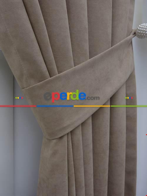 Açık Vizon - Düz Fon Perde (180)- Açık Vizon