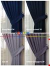 Düz Petek Fon Perde 35 Farklı Renk 1 Kalite Gramajlı Ürün