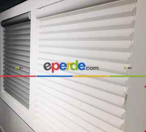 Salon Zebra Perde - Fırsat!!!! Yeni Ürün Silüet Perde- Beyaz