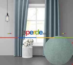 Sis Mavisi Ada Fon Perde 51 Renk Seçeneği Perle Home Daily Series