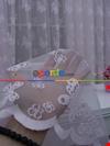 Kelebek Desenli Kız Çocuk Odası İçin Tül Perde