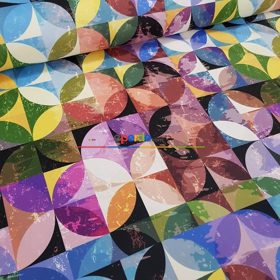 Renkli Fon Perde Ve Döşemelik Çok Amaçlı Kumaş