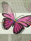 Zebra Perde - Kelebek Baskılı Çocuk Ve Genç Odası