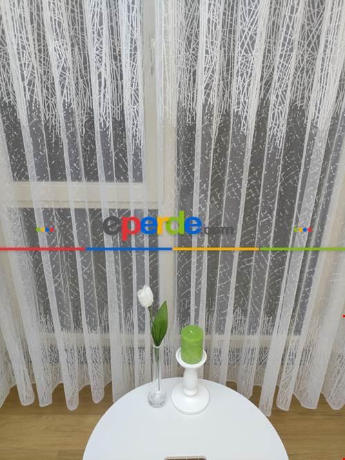 Salon Yatak Odası Fransız Dantel 2020 Tül Perde