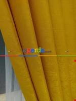 Soft Fon Perde- Fıstık Yeşili Hardal