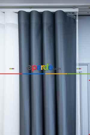 Lens Akıllı Dikey Tül Perde Bulut-16- Çok Renkli 2